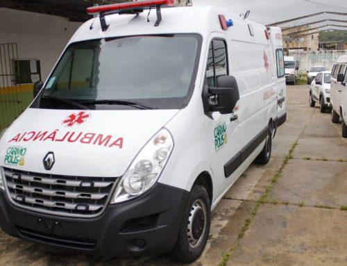 Recurso da venda do teleférico é destinado à compra de uma ambulância UTI