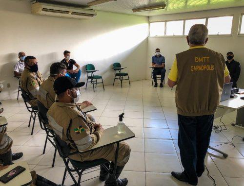 """DMTT inicia em Carmópolis Campanha Alusiva ao """"Maio Amarelo"""""""