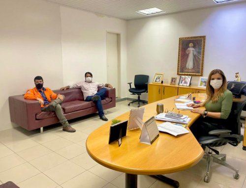 Prefeitura de Carmópolis estreita laços com empresa a fim de priorizar mão de obra local